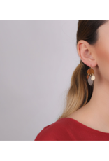 NATURE Chambord Hook Earrings with Dangles