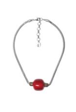 NATURE Mauna Loa Single Bead Necklace