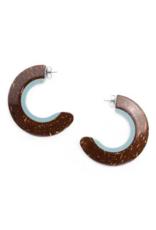 NATURE Tamako Creoles Earrings