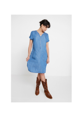 Part Two PART TWO Aminas Dress, Light Blue Denim