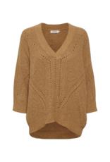 Soaked in Luxury Soaked in Luxury Oceane Rodeo Sweater in Brown