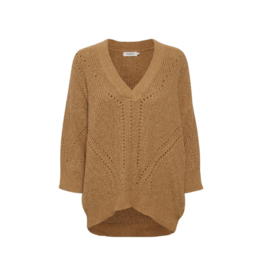 Soaked in Luxury Soaked in Luxury Oceane Rodeo Sweater in Brown