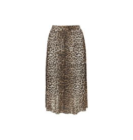 Soaked in Luxury SOAKED Easton Skirt, Pecan Brown Leopard