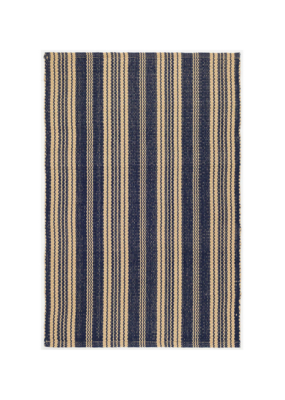 Dash & Albert Dash & Albert Navy Otis Indoor/Outdoor Rug