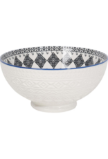 Bowl Embossed Casablanca Serving