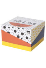 Danica Pinch Bowl Set (6) With Bits & Dots