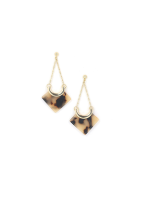 Lover's Tempo Lover's Tempo Libra Drop Earrings Tortoise