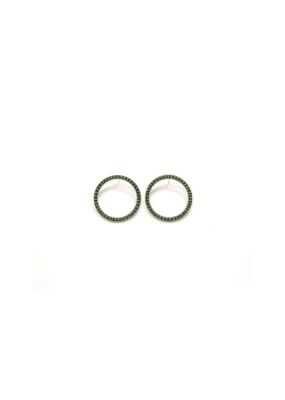 Lover's Tempo LT Earrings Portside Hoop Green