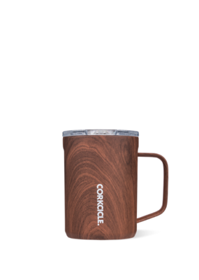 Corkcicle Corkcicle Mug Walnut Wood 16oz