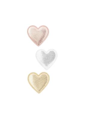 Mimi and Lula Glitter Sweetheart Salon Clips