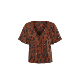 Soaked in Luxury Soaked in Luxury Maxwell Top Burnt Henna Leopard