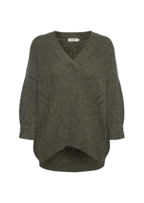 Soaked in Luxury Soaked in Luxury Oceane Rodeo Sweater  Forest Night