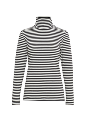 Part Two Part Two Taeko Striped Jersey Turtleneck