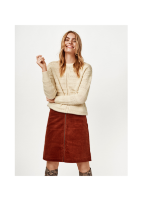 "b.young b.young ""Dafna Skirt"" in Dark Copper"