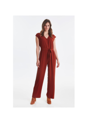 "b.young b.young ""Filippo Jumpsuit"" in Dark Copper"