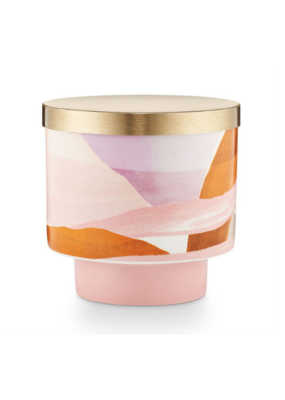 Illume Coconut Milk Mango Ceramic Candle With Lid