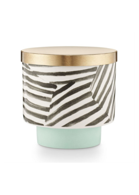 Illume Sugar Blossom Ceramic Candle With Lid