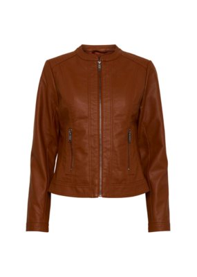 "b.young b.young ""Acorn Jacket"" in Dark Copper"
