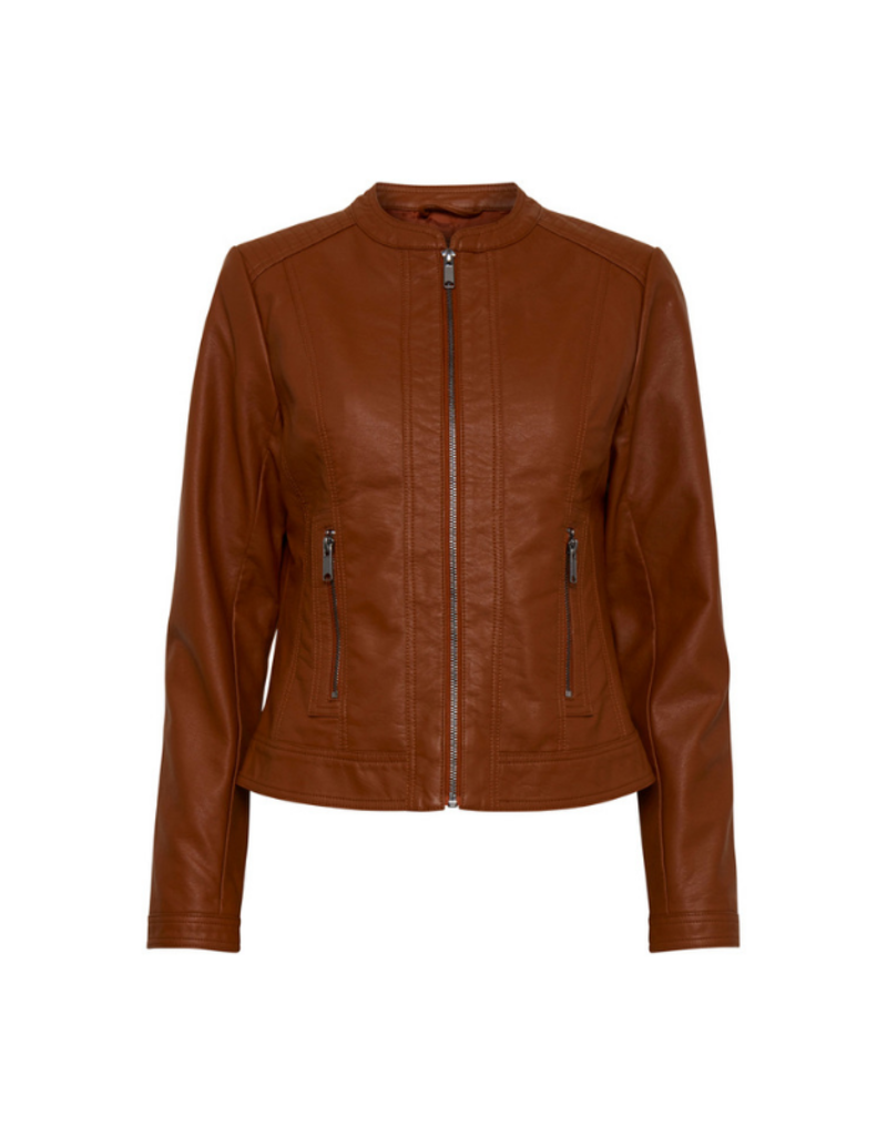 """b.young b.young """"Acorn Jacket"""" in Dark Copper"""