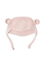 Beba Bean Crochet Bear Toque Pink