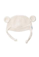 Beba Bean Beba Bean Crochet Bear Toque Ivory