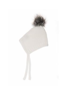 Beba Bean Pom Pom Hat Ivory