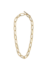 PILGRIM Pilgrim Goddess Ran Chain Link Necklace with Toggle Clasp in Gold or Silver