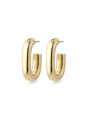 PILGRIM Pilgrim Goddess Ran Open Hoop Earring in Gold or Silver