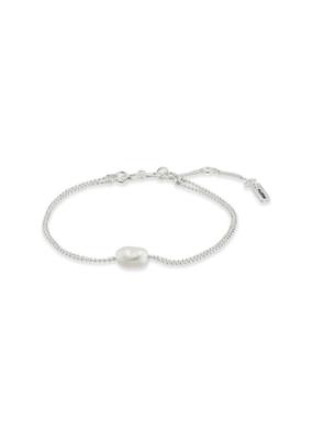 PILGRIM Pilgrim Goddess Ran Silver & Pearl Bracelet
