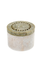 Marble Canister in Magnolia or Sunflower