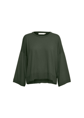 InWear InWear Lize Knitted Pullover Sweater in Olive