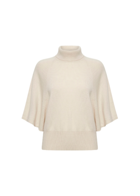 InWear InWear Iris Turtleneck Sweater in French Nougat