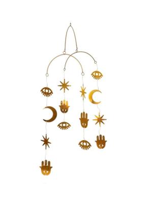 Lunar Light Brass Mobile