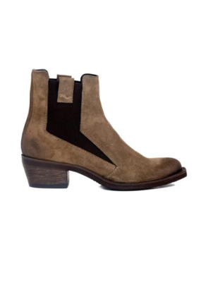 ateliers Ateliers Bodhi Ankle Boot Taupe Suede