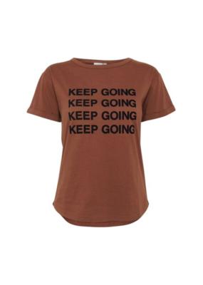 """ICHI ICHI Fannie Tee """"Keep Going"""""""