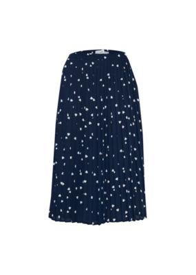 ICHI ICHI Kalola Skirt Total Eclipse