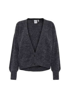 ICHI ICHI Amara Cardi Sweater Black