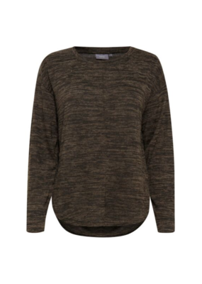 b.young b.young Ralina Sweater Peat Green