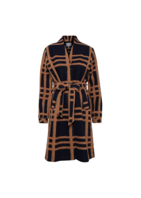 b.young b.young Anni Checked Coat