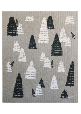Ten & Co. Ten & Co. Sponge Cloth Woods Grey