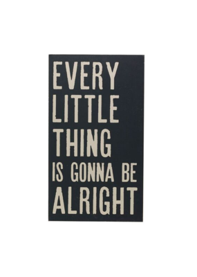 """""""Every Little Thing"""" Wood Wall Art"""