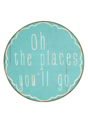 """Oh The Places You'll Go"" Metal Wall Decor"