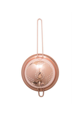 Copper Stainless Steel Strainer 1.5Qt
