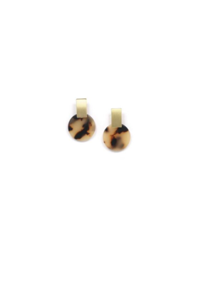 Lover's Tempo LT Earrings Jupiter Drop Tortoise