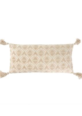 Stella Ecru Bolster Pillow