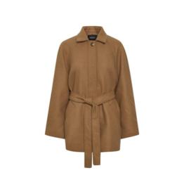 Soaked in Luxury SOAKED Bett Coat Pecan Brown