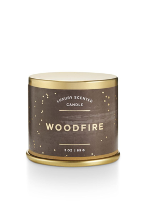Illume Woodfire Demi Tin