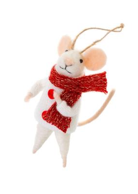 Mouse Ornament Outdoor Oscar