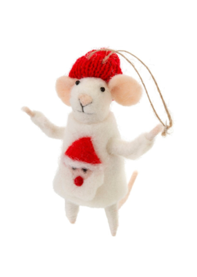 Mouse Ornament Ugly Sweater Simon