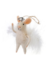 Mouse Ornament Angelic Annie